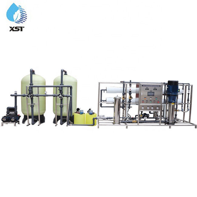 Commercial Full Automatic 20m³ / hr RO Water Treatment Plant